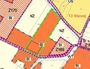 Územní plán - Zahradní